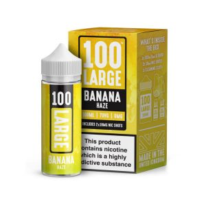 E-Liquid 100 Large Banana Haze 100ml