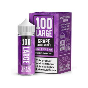 E-Liquid 100 Large Grape Expectations 100ml